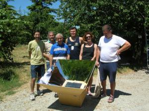 Corso su i forni solari a Cesena GRTA